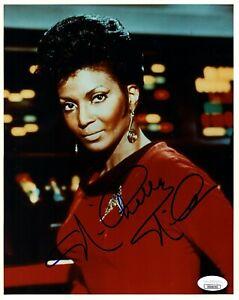 "NICHELLE NICHOLS Signed Autographed Star Trek ""UHURA"" 8x10 Photo JSA #DD96252"