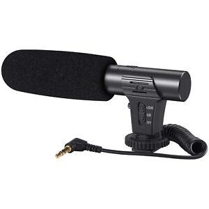 Mamen Vlogging Video On Camera Microphone DSLR Smartphone Mic-05