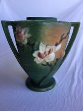 Roseville pottery MAGNOLIA vase #94-9 Mint condition 9.24 x 9.75 vintage