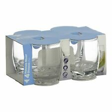 4 Ravenhead Essentials Hobnob Mixer Glasses 29cl Drink Juice Party Dishwasher