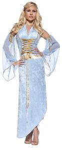Juliet Lace-Up Dress Adult Womens Costume Medieval Renaissance Halloween Party