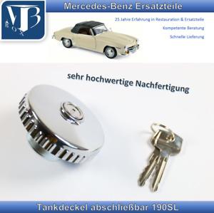 Mercedes-Benz 190SL Tankdeckel, Tankverschluss abschleißbar