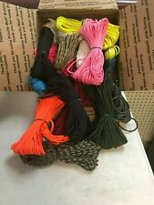 6 pound lot of assorted colors 550 paracord