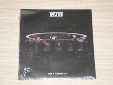 "MUSE -TIME IS RUNNING OUT / THE GROOVE- 45 GIRI 7"" CLEAR VINYL SIGILLATO SEALED"