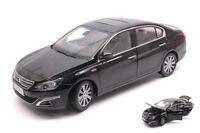 Peugeot 408 2014 Black 1:18 Model PAUDI MODEL