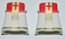 16820 Falda cardenal, obispo sin pies 2u playmobil,skirt,cardinal,bishop