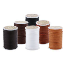 0.55mm Leather Sewing Round Waxed Thread Cord String DIY Stitching Crafts