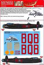 Kits World Decals 1/48 AVRO LANCASTER B.I Phantom of the Ruhr
