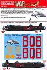 Kits World Decals 1/48 AVRO LANCASTER B.I Phantom of the Ruhr
