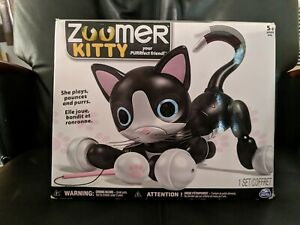 NIB Kids Zoomer Kitty Spin Master Interactive Robot Cat Robo Kitty Brand New toy