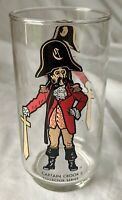 Ronald McDonald Captain Crook McDonald's Drinking Glass Drinkware Vintage