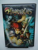 Thundercats Season One Book One DVD 2011 LIEK NEW REGION 1