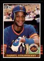 1985 Donruss Darryl Strawberry Mets #312 *Noles2148* 10=Free Ship