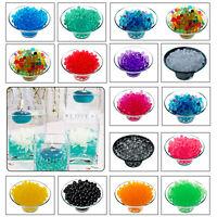 500 Aqua Water Beads Crystal Magic Balls Bio Soil Plant Vase Wedding Table Decor