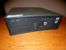 Dell Desktop computer Optiplex GX620  Intel Pentium 4 +160gb hard drive+win7