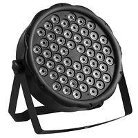 54X3W RGBW LED Stage Light DMX512 Par Lighting Xmas Projector Party Club DJ Lamp