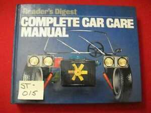 COMPLETE CAR CARE MANUAL FOR THE 1st TIME CAR OWNER-D-I-Y BEGINNER MAINTENANCE