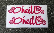 O'Neill Stickers x 2 Ideal Surfers!!Looks Good on VW Campers/Day Vans