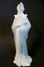 Porcelain Figurine Nao by Lladro Spanish Lady With Fan -No chips or cracks - 12""