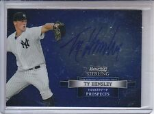 TY HENSLEY 2012 BOWMAN STERLING PROSPECT AUTO