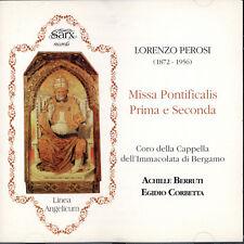Lorenzo Perosi -  Missa pontificalis: Prima e seconda; Bergamo Sarx Records 1994