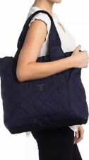 NWT Marc Jacobs Diamond Quilted Nylon Tote Bag $225 in Midnight Blue