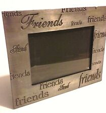 """Metal friends picture frame fits 4.5"""" x 3"""" picture"""
