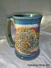 Soartaware Calfkiller Handmade Pottery Beer Mug Series 22014 *Signed*