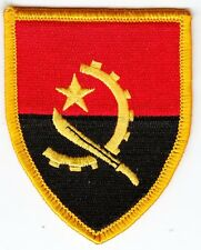 Aufnäher / Aufbügler Fußball + Angola + Wappen + Nur 1x + Sammler +