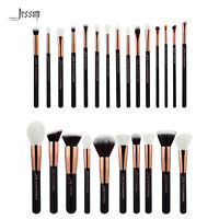 Jessup Cosmetic Brush Set Powder Blush Shadow Rose Gold Natural-Synthetic Hair