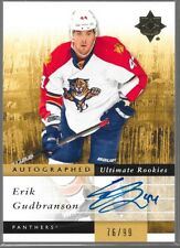 11/12 Ultimate Collection Auto Rookie RC Erik Gudbranson /99 132 Panthers