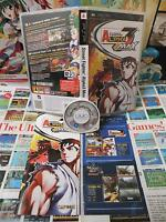Sony PSP:Street Fighter Alpha 3 Max [TOP CAPCOM & 1ERE EDITION] COMPLET - Fr