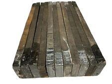 11 Pack, GABOON EBONY Thin Stock Lumber Board, Wood Blanks 13