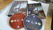Myst IV Revelation -  PC/MAC Game by Ubisoft - Original Packaging