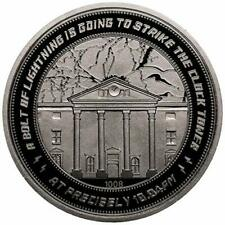 Back to the Future Clocktower Collector`s Limited Edition Coin (Sil. New