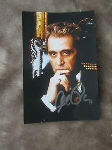Al Pacino Hand Signed Photograph Lot 2