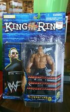 WWF The Rock King of the Ring Superstars Team Corporate 8 Action Figure mib c53