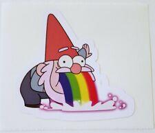 Gravity Falls barfing gnome Sticker decal car laptop scrapbook