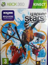 WINTER STARS. REQUIERE KINECT. JUEGO PARA XBOX 360. NUEVO, PRECINTADO.