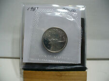 1989 CANADA QUARTER  DOLLAR TOP GRADE  25 CENT PIECE  89  PROOF LIKE  SEALED
