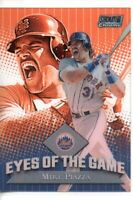 2000 STADIUM CLUB CHROME MIKE PIAZZA EYES OF THE GAME
