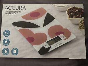 Accura digital kitchen scales 5kg - new in box