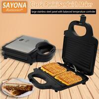 750W Electric Walnut Cake Sandwich Maker Toaster Household Breakfast Machine