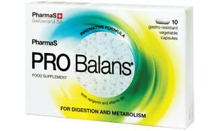 PRO BALANCE CAPS * 10  / Optimal intestinal microflora equilibrium / 2 BOX