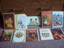 Lot 10 Thanksgiving Greeting Cards - Sister - Love You - St. Labre Indian School