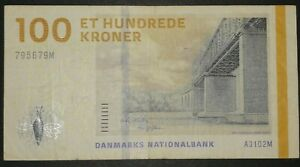 Denmark 100 Kroner  2009   VF   P. 66, Banknote, Circulated