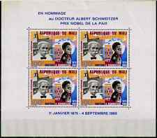 TIMBRES MALI  ' DOCTEUR SCHWEITZER 1966 ' BLOC n°4 NEUF**