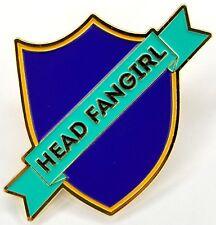 - Harry Potter Inspired - Ravenclaw Head Fangirl Enamel Pin - Uk