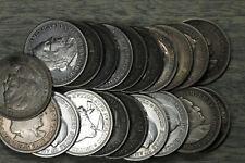 Roll of 20 Columbian Commemorative Silver Half Dollars!