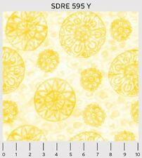 Yellow Tossed - Soft Dreams from PB Textiles HALF YARD
